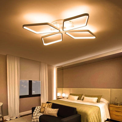 Lighting Garner - Diamond Rings Surface Mounted Modern Ceiling Lamp