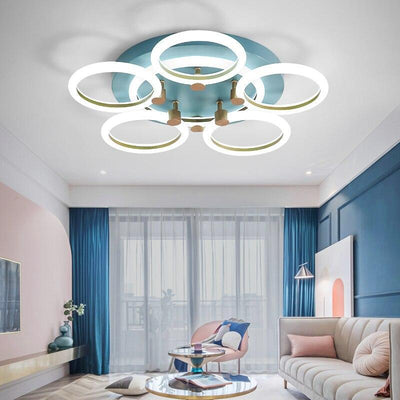 Lighting Garner - Crop Circle Rings Modern LED Ceiling Lights