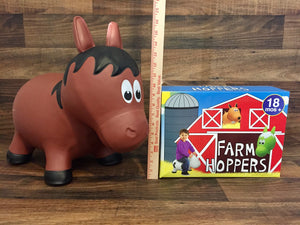 Brown Horse Farm Hopper