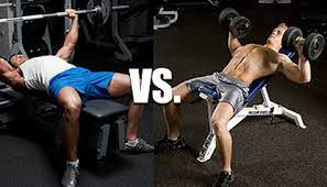 barbell bench press vs dumbell bench press ifast