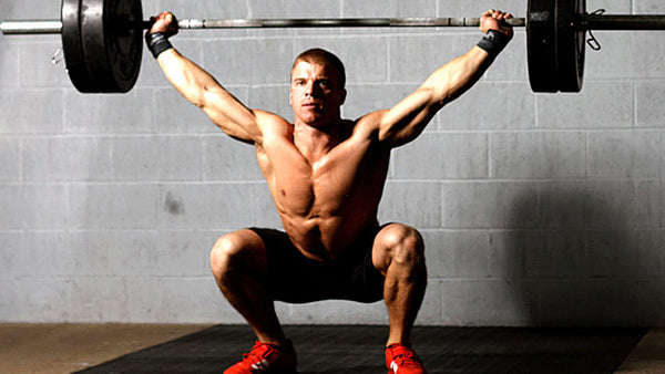 squat over the head