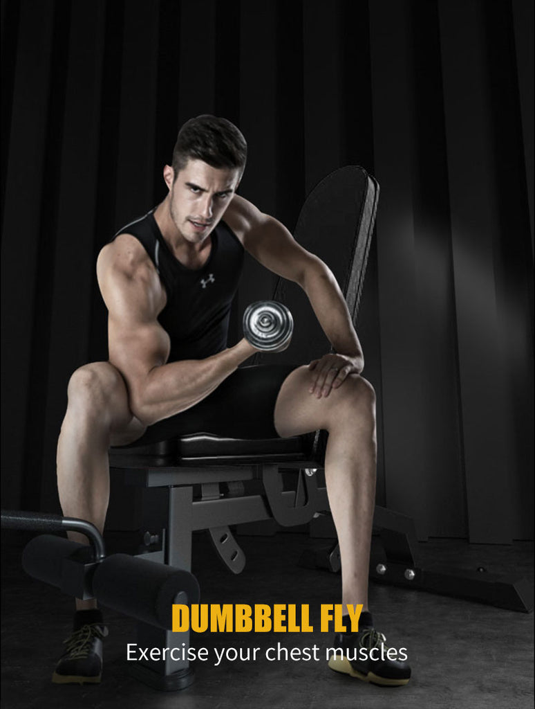 12 angle dumbbell bench press weight