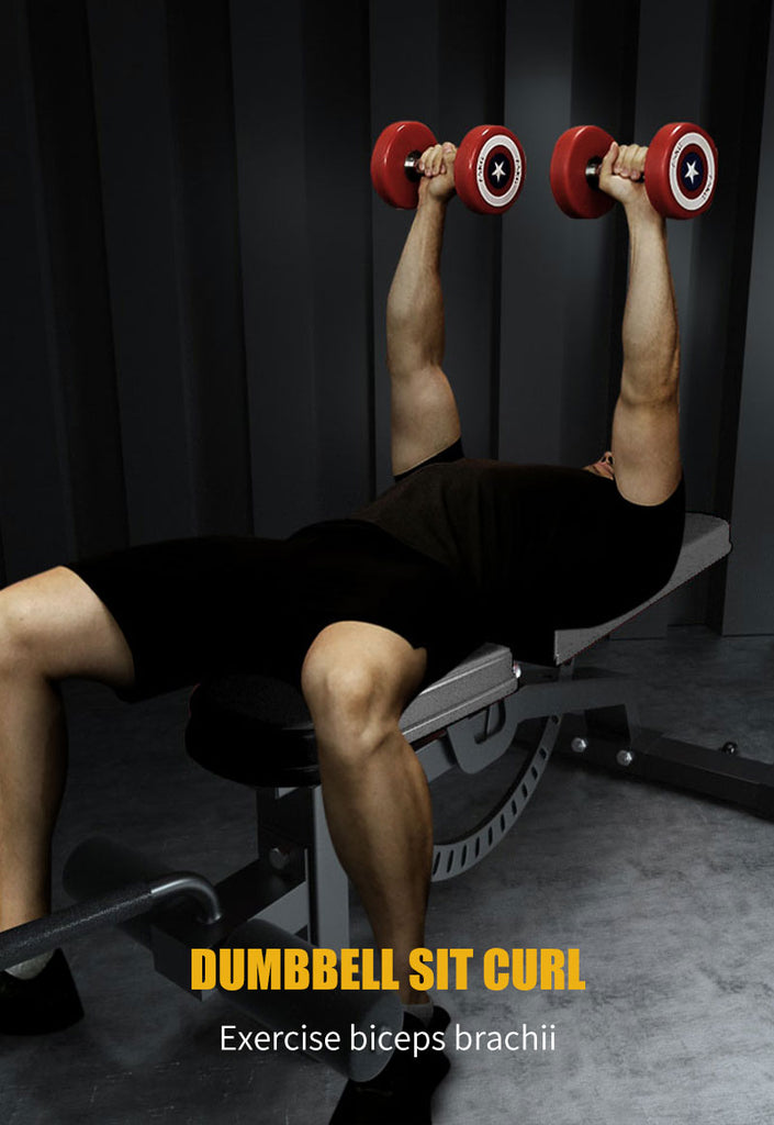 dumbbell bench press weight