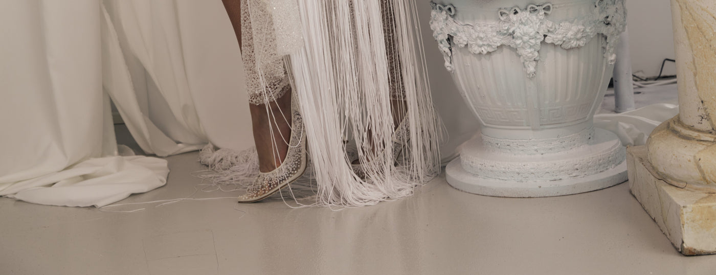 What you need to know to find the perfect bridal shoe