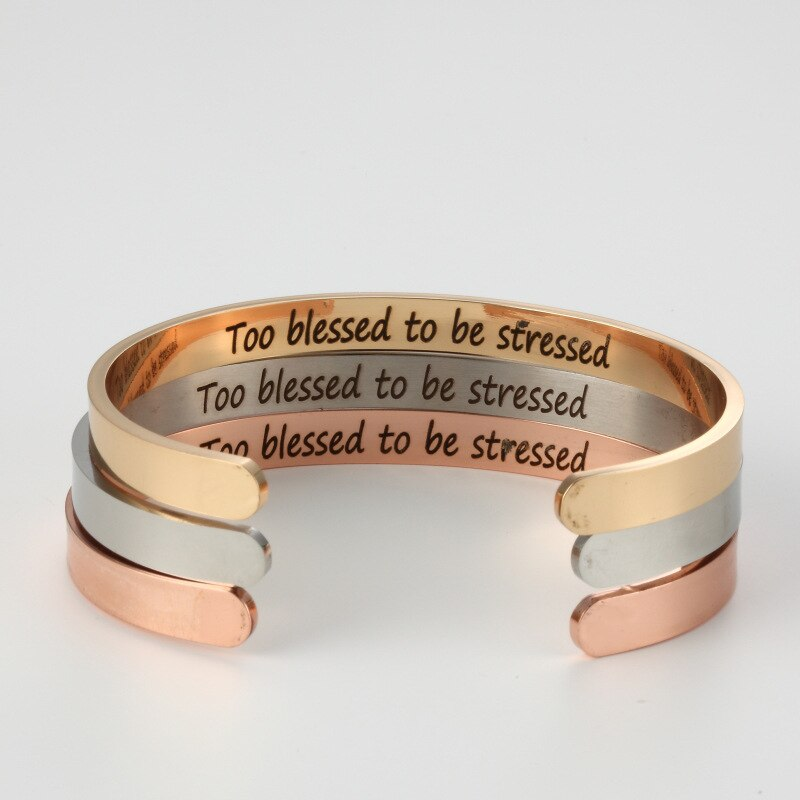 Too blessed to be stressed - unisex