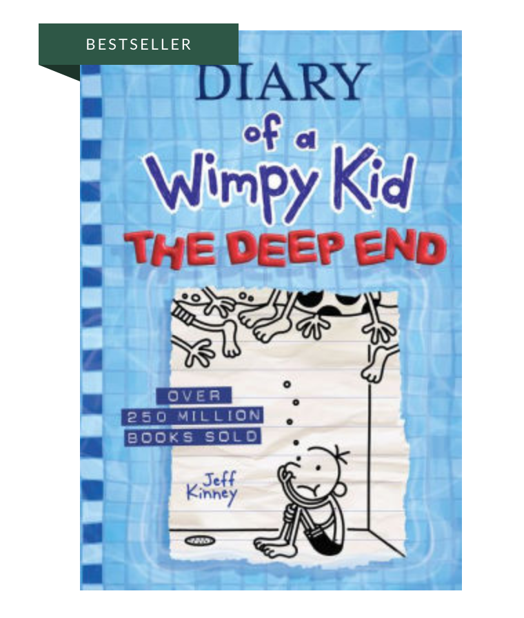 Gift a Book (Diary of a Wimpy Kid: The Deep End)
