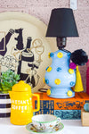 DIY Global Eclectic Upcycled Lamp
