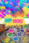 What's the most colorful festival in the world? HOLI!