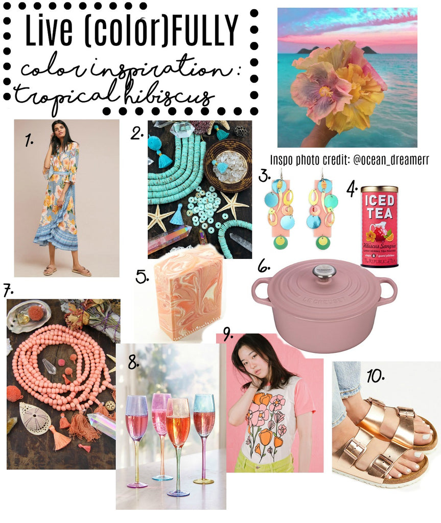 Live (color)FULLY Color Inspiration: Tropical Hibiscus