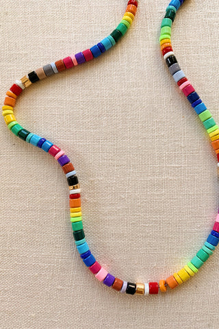 Making an Enamel Bead Necklace with HonestlyWTF, beads from WomanShopsWorld