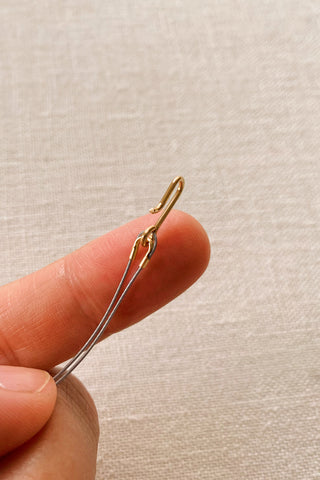 How to attach a clasp to beading wire, by HonestlyWTF, beads from WomanShopsWorld