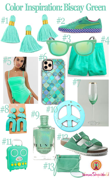 Biscay Green Color Inspiration