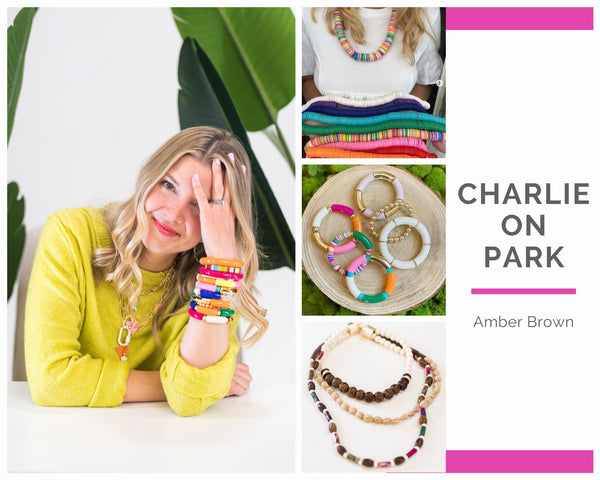Charlie on Park by Amber Brown, interviewed by WomanShopsWorld