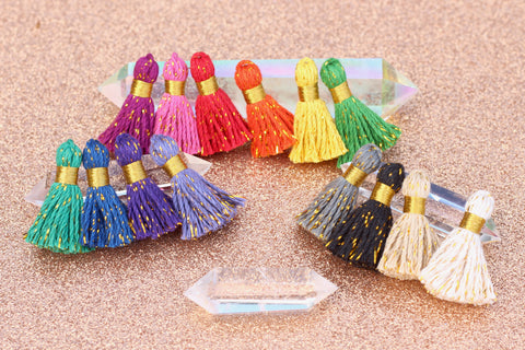 Cotton & Tinsel Tassels from WomanShopsWorld