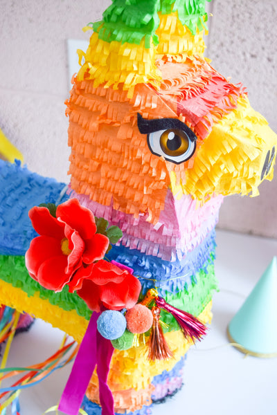 DIY Bougie Pinata by PMQ for TWO, featuring WomanShopsWorld Tassels and Pom Poms