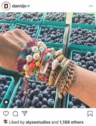 Camp Style Arm Candy from Dannijo Jewelry