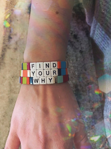 Find Your Why bracelet