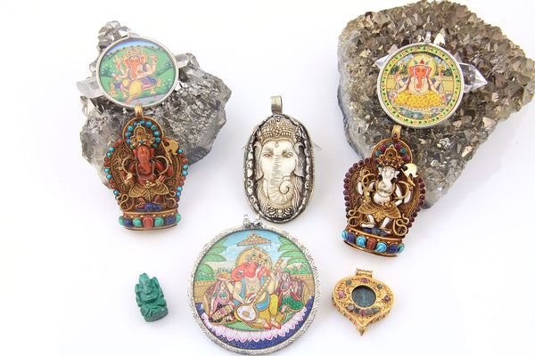 Ganesh Pendants from WomanShopsWorld