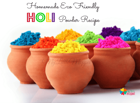 Homemade, Eco Friendly Gulal Powders