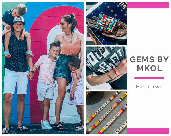 Margo Lewis of Gems by MKOL, interviewed by WomanShopsWorld