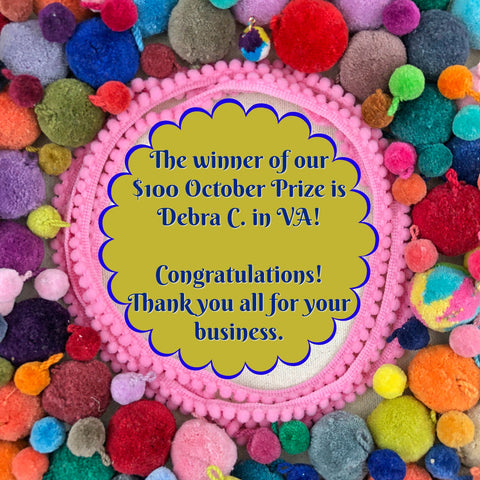 Winner of the WomanShopsWorld $100 Prize Giveaway