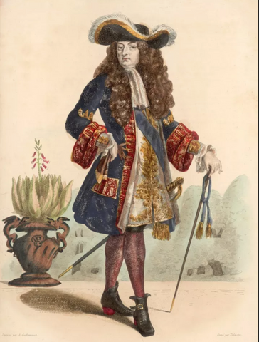 Louis XIV, archive photo from Getty Images