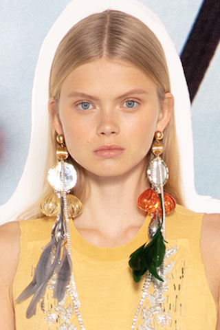 Statement Earrings as seen on Marie Claire