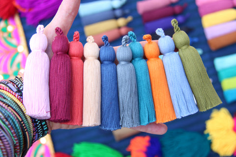 Thick Tassel Luxe Cotton Tassels from WomanShopsWorld