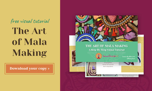 Download your free visual tutorial: The Art of Mala Making