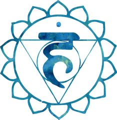 Throat Chakra Symbol from TheYogaHub.ie