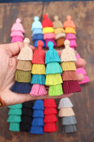 Tiered Tassels from Woman Shops World