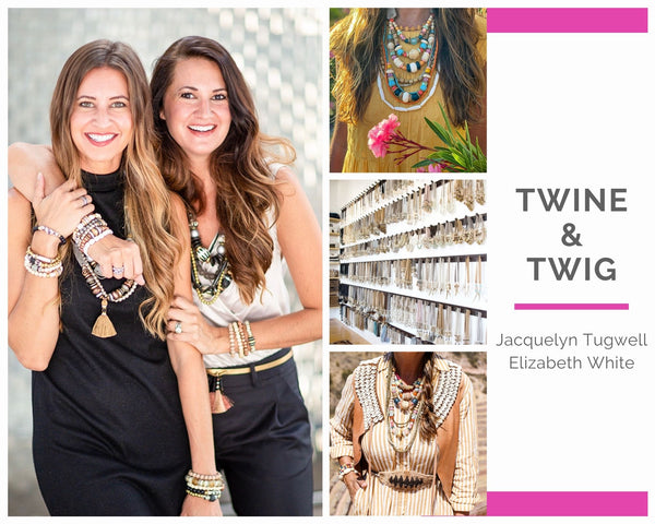Twine & Twig interview for International Women's Day, by WomanShopsWorld