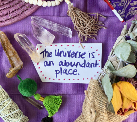 The Universe is an Abundant place