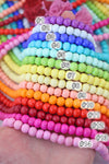 108 Bead Mala: Yoga Inspired Jewelry, Beaded Boho Necklace for Meditation, 14 Colors, Rainbow