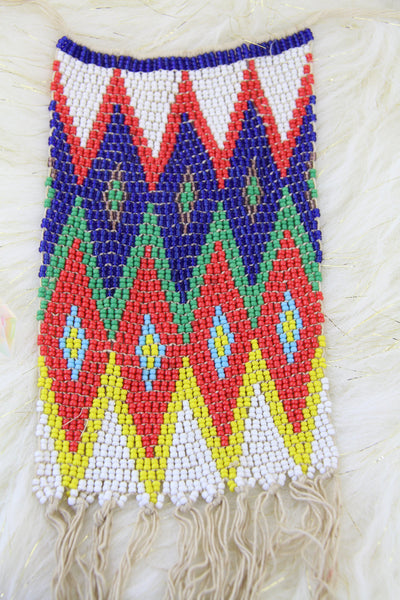 Fulani, Kirdi Beaded Apron, Cache Sexe Loincloth from Cameroon, Wall Hanging, African Home Decor