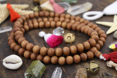 Large Sandalwood Beads