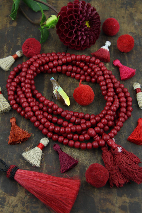 108 beads, Exclusive Color, Boho Yoga Jewelry Making Supply