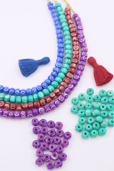 Hand Crafted Beads for Jewelry Making & Crafts