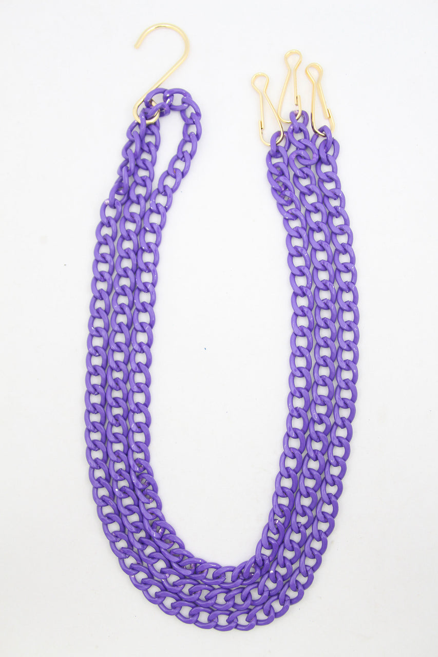 Purple Hanging Basket Chain, Accessory for House Plant