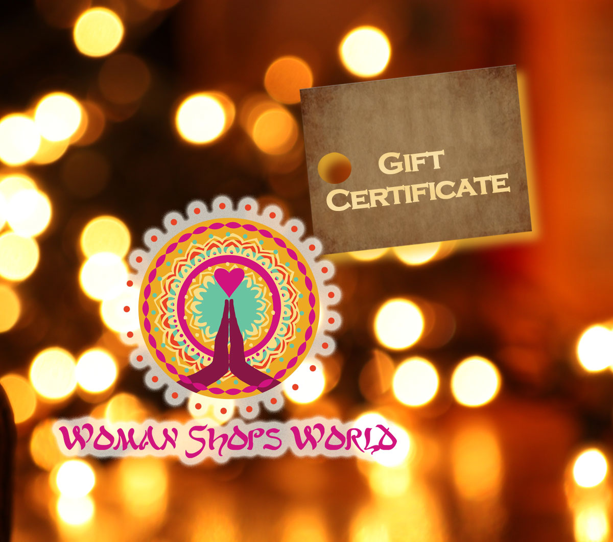 WomanShopsWorld Gift Card