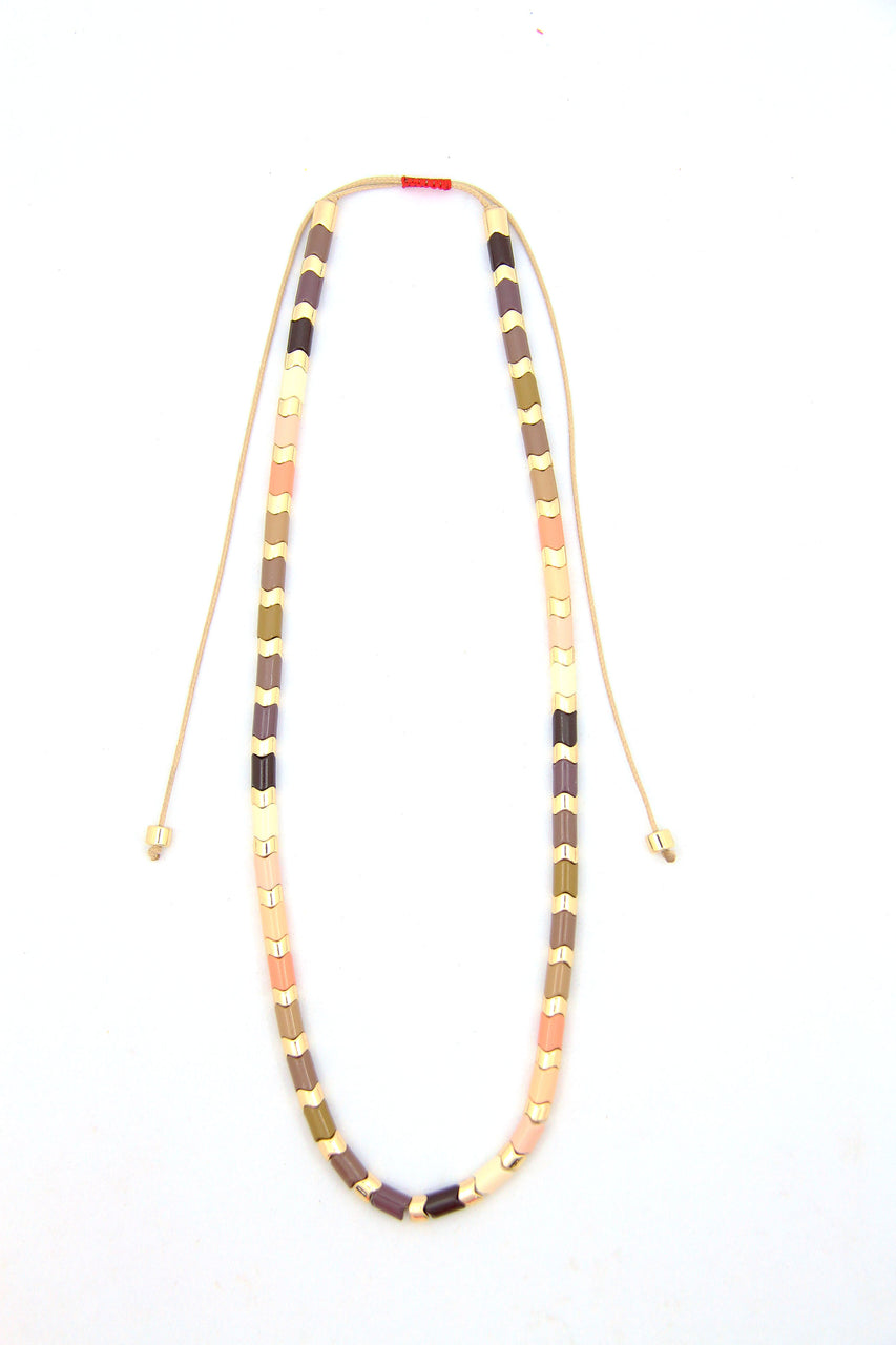 Inclusivity Jewelry Collection: Skin Colors of the World Necklace