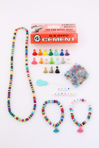 Kids DIY Bracelet Kit, Make 6+ Bracelets
