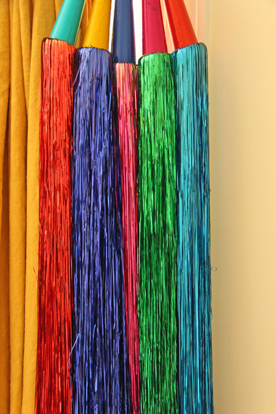 Large Tinsel Tassel