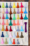 "Mini Silky Jewelry Tassels, 1.25"" Tassels for Earrings"