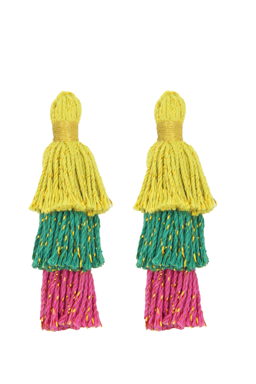 Summery Tassel Earrings