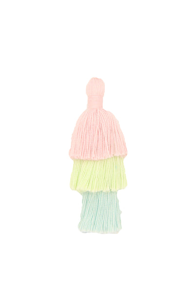 Pastel Tassels for Jewelry Making