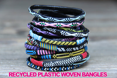 Recycled African Bangles