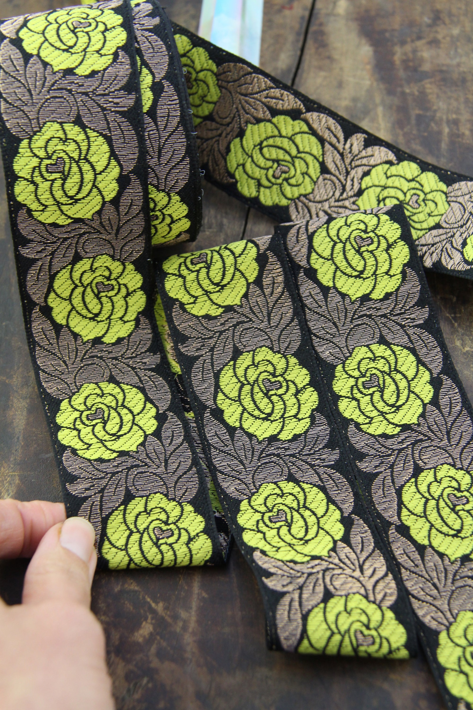 Bulk Lace~50 Yards Mint Green 2 Inch Wide Ruffled Floral Lace Trim