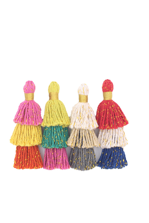 Tiered Tassels, Layered Tassels