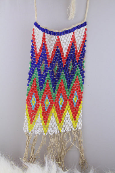 Fulani, Kirdi Beaded Apron, Cache Sexe Loincloth from Cameroon, Wall Hanging, African Tribal Decor